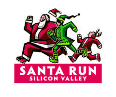 Santa Run Silicon Valley 2013