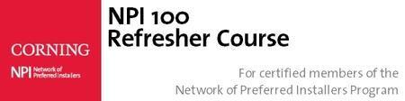 NPI 100 Refresher Course - New York, NY (Morning)