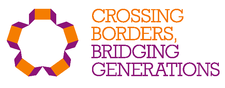 Crossing Borders, Bridging Generations logo