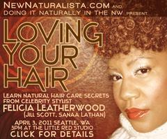 Seattle Natural Hair Workshop