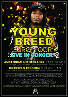 HIP HOP FEEST, LIVE CONCERT YOUNG BREED