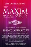 The Maxim Party at Havana Club