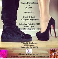 "Gents and Dolls ""Couples Night Out"""