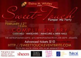 Sweet-Touch Pamper Me Party