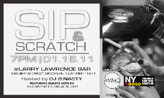 Sip and Scratch