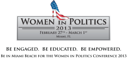 Women in Politics Conference 2013 & EXPO - 2 Day Student...