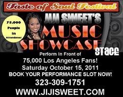 Jiji Sweet's Taste of Soul Artist Showcase