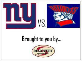 NY Giants vs. SHS Patriots - Super Bowl Rematch!