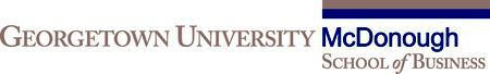 McDonough School of Business Alumni Reception