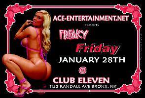 FREAKY FRIDAY @ CLUB ELEVEN