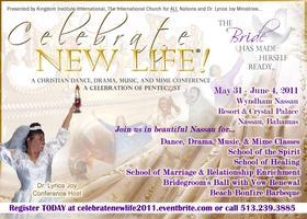 """CELEBRATE NEW LIFE... The BRIDE Has Made Herself..."