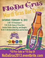NoDa Gras...Mardi Gras Bar Crawl