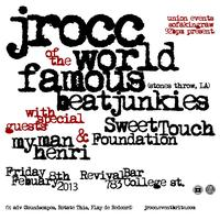 J Rocc (Stones Throw, Los Angeles) w/ Sweet Touch...