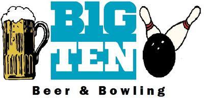 Big Ten Beer & Bowling 2013