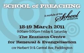 School of Preaching 2011