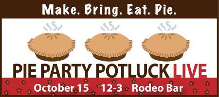 Pie Party Potluck LIVE!