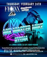 MIX MASTER MIKE + HYENA + JAMUEL SAXON+ DJ LEIF @...