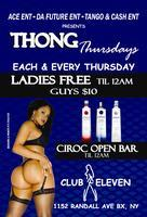 THONG THURSDAYS @ CLUB 11