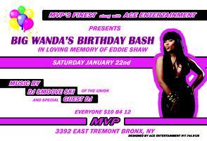 BIG WANDA'S BIRTHDAY BASH @ MVP LOUNGE