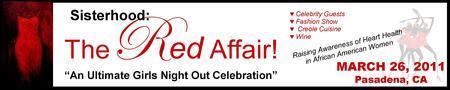 Sisterhood:  The Red Affair!  Sponsors
