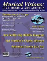 Musical Visions - Live Music & Art Auction