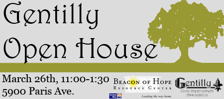 Gentilly Open House