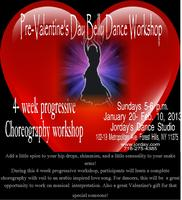 VALENTINE 4 Week Progressive Belly Dance Workshop