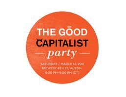 #SocEnt = The Good Capitalist Party 2011!