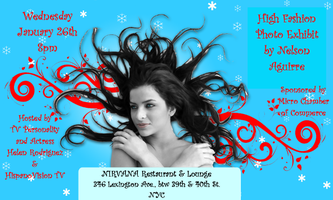 High Fashion Photo Exhibit by Nelson Aguirre at Nirvana