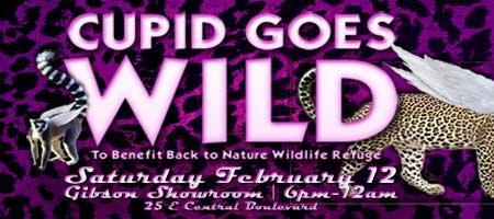 2011 Cupid Goes Wild! To Benefit Back to Nature...