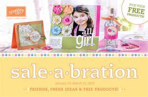 Stampin' Up! Sale-A-Bration Extravaganza & Idea Blitz