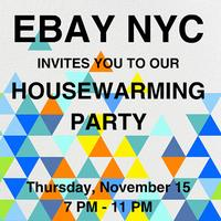 eBay NYC Housewarming Party