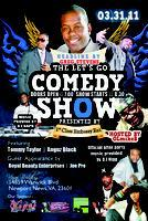 The LET'S GO COMEDY SHOW Hosted by OlmikeB