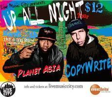 "Copywrite & Planet Asia ""Up All Night"" Tour"