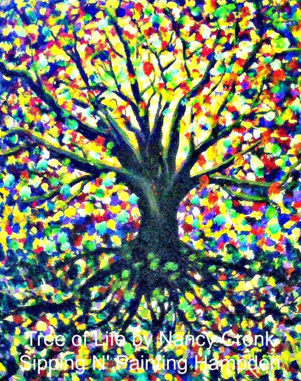 Paint Wine Denver Tree of Life Fri June 12th 6:30pm $35