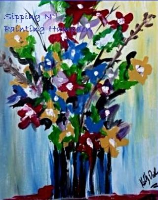 Paint Wine Denver French Bouquet Sun June 7th 5:30pm $30