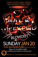 TEEN NIGHT: MLK Weekend Blowout | Sunday 1.20.13