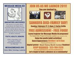 SANKOFA DIGI-FAMILY DAY - Sun 2/27/11