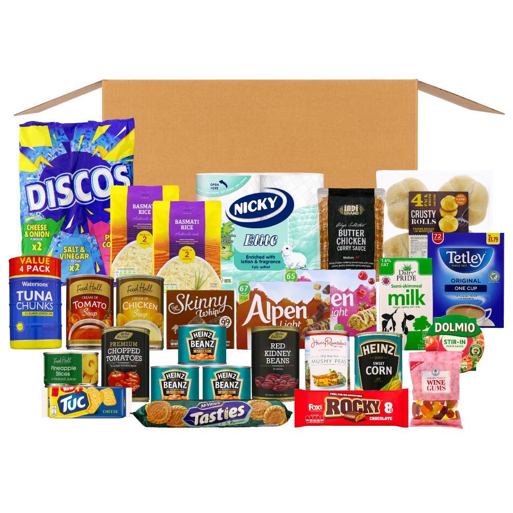 LGI- Leeds Cares food box- Thursday delivery