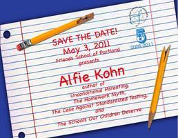 Educator's Workshop with Alfie Kohn at Friends School...