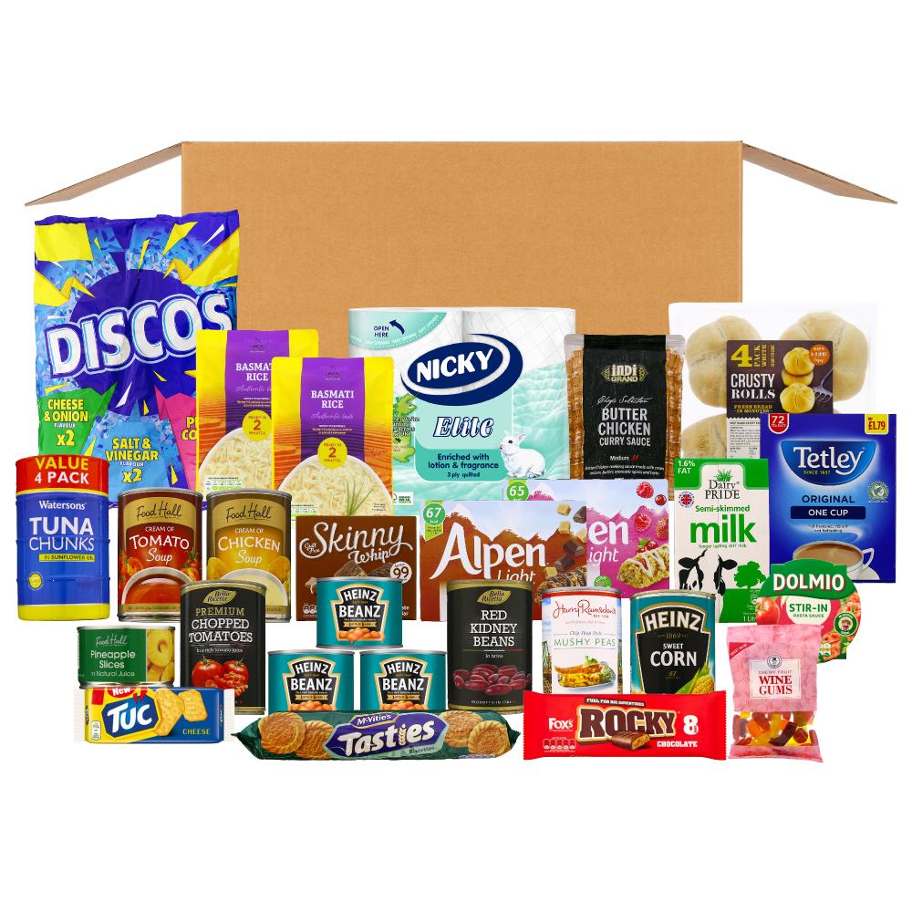LGI- Leeds Cares food box- Tuesday delivery