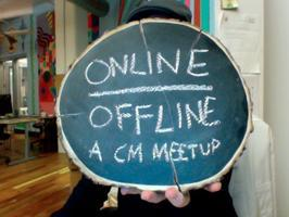 Online/Offline: A Happy Hour for Social Media Peeps