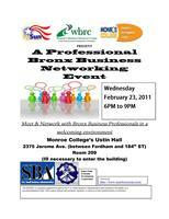 A Professional Bronx Business Networking Event