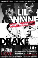 lilwayne official  concert after party and drake at lov...