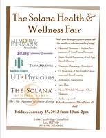 The Solana Health and Wellness Fair