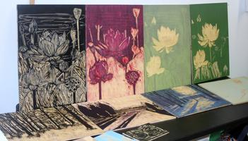 Woodblock Printing with Amanda Gordon Miller