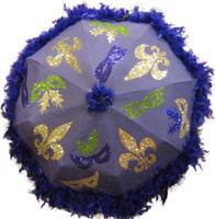 Make and Partake: Mardi Gras Umbrellas