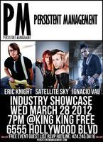PM | Music Industry Showcase featuring Eric Knight |...