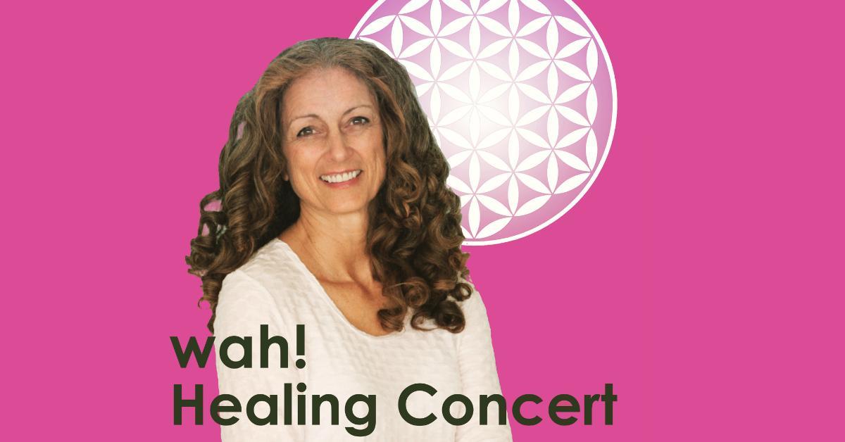 ONLINE Wah! Healing Concert - San Francisco