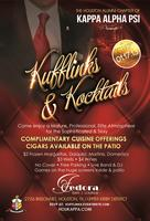 Kufflinks & Kocktails™ / Fedora Bar & Lounge w/Live...
